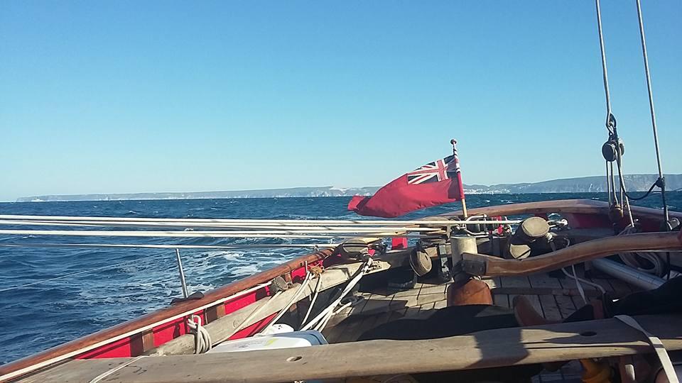 My sailing journey